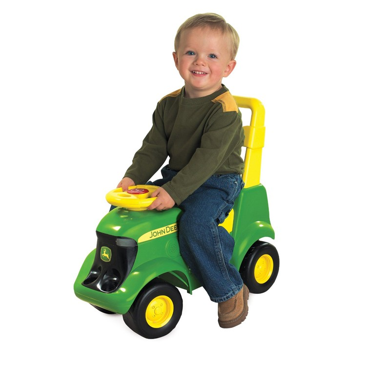 John Deere Tractor Scooter Toddler Ride On Toy