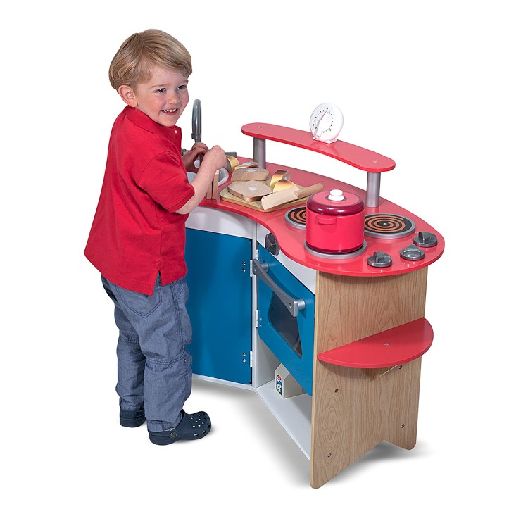 Kids Wooden Play Kitchen Educational Toys Planet