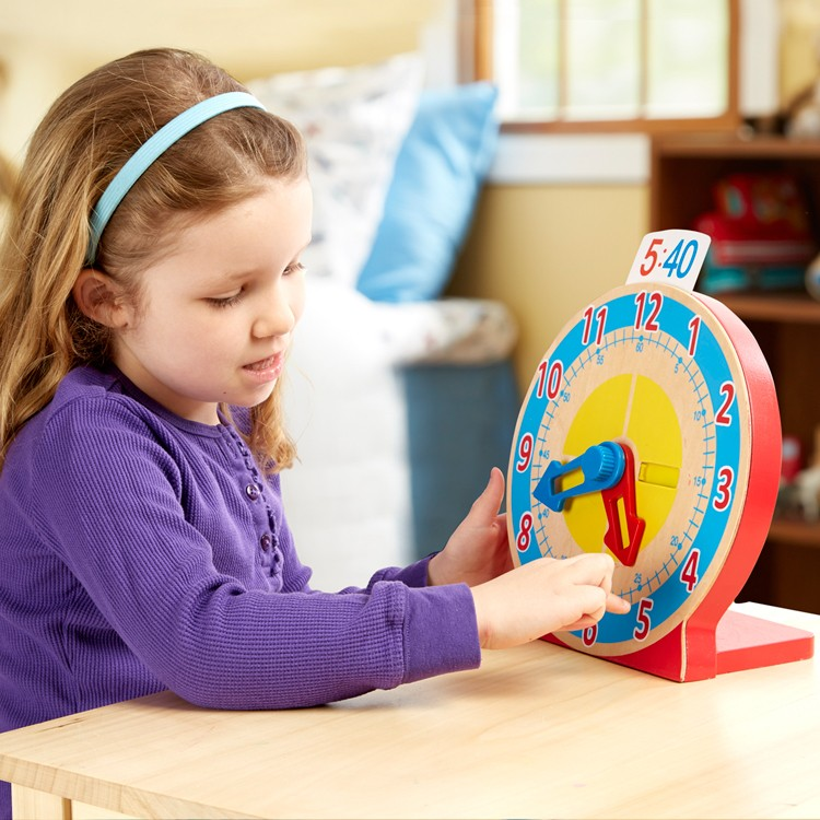 Learn to Tell Time Clock for Kids - Educational Toys Planet