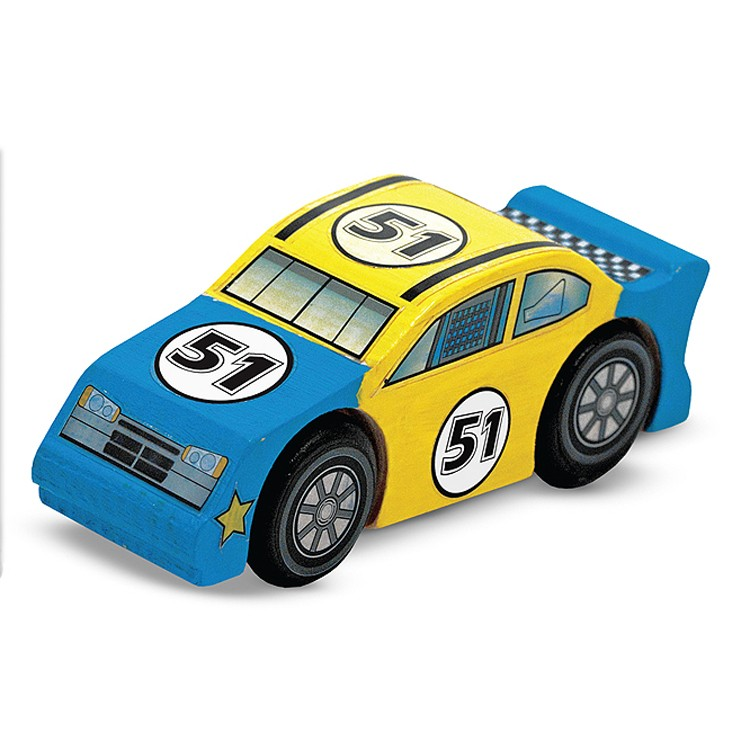 Decorate Wooden Race Car Craft Kit - Educational Toys Planet