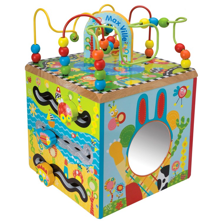 Maxville Toddler Activity Cube - Educational Toys Planet