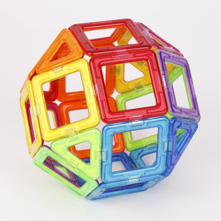 Magnetic Building Toys : Magformers pc rainbow magnetic construction toy