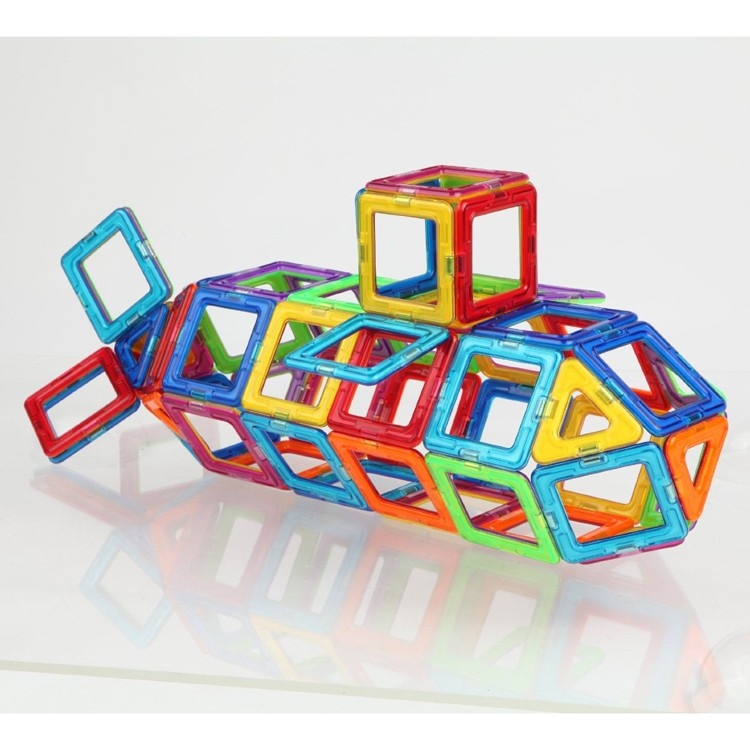 Magnetic Building Toys : Magformers challenger pc deluxe magnetic building set