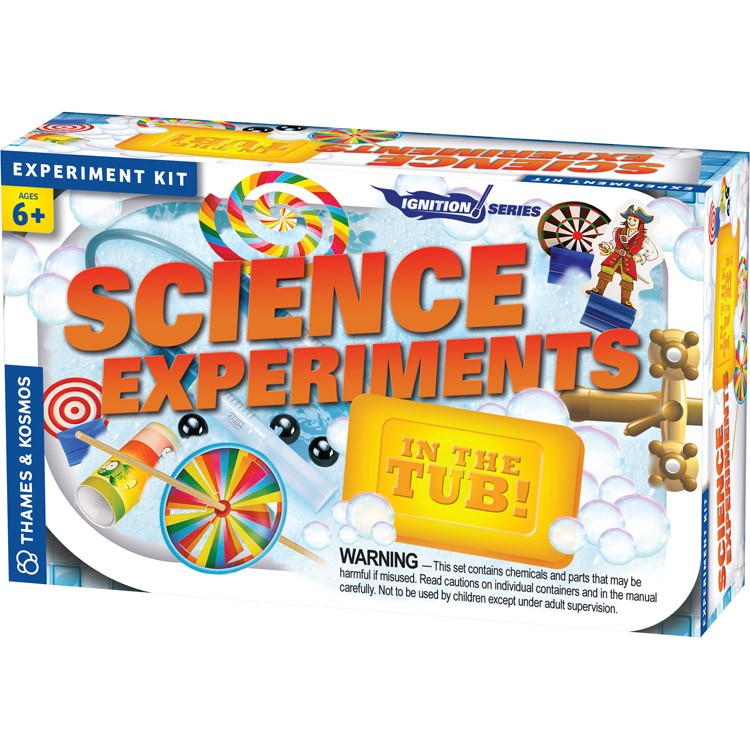 Science Educational Toys : Science experiments in the tub kit educational