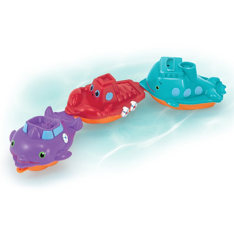 Maritime Mates Boat Parade Water Toy Educational Toys Planet