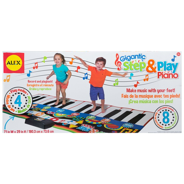 Gigantic Step Amp Play Kids Floor Piano Educational Toys