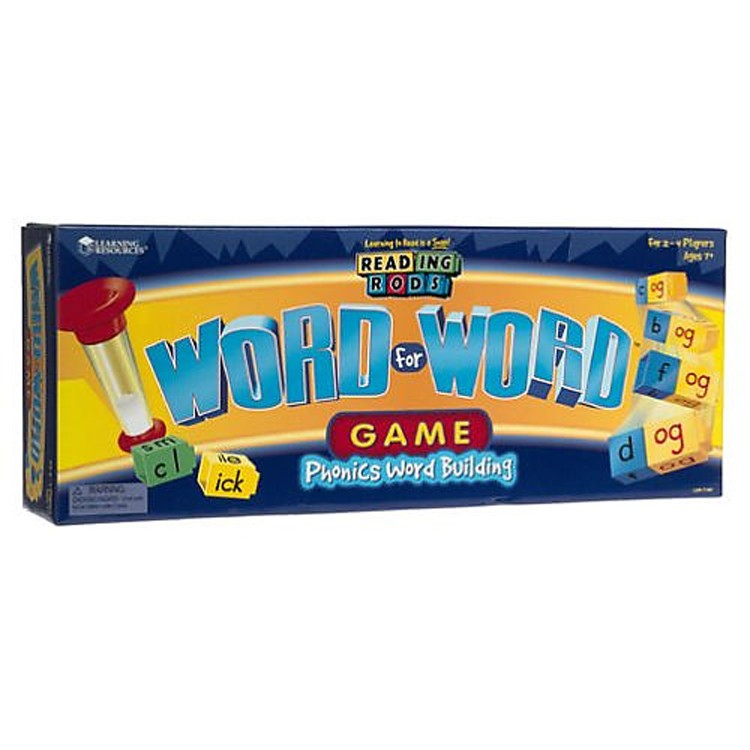 Word for Word Game Phonics Activity Set - Educational Toys ...