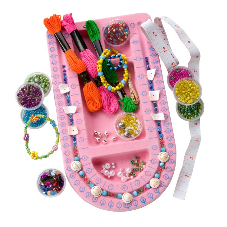 Jewelry design studio girls deluxe fashion craft kit educational toys planet for Deluxe interior design studio kit