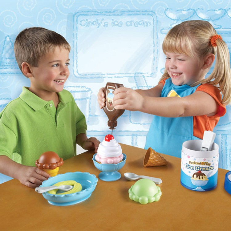 Pretend Amp Play Ice Cream Shop Educational Toys Planet