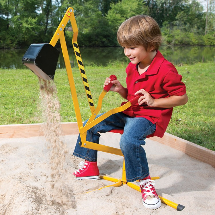 Super Sand Digger Ride-on Crane Toy - Educational Toys Planet