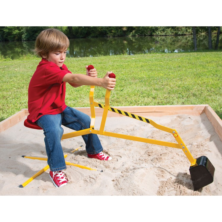 Digging Toys For Boys : Super sand digger ride on crane toy educational toys planet
