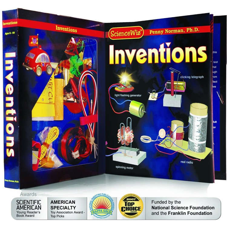 Toys For 9 Year Olds Can Invent : Inventions science kit educational toys planet