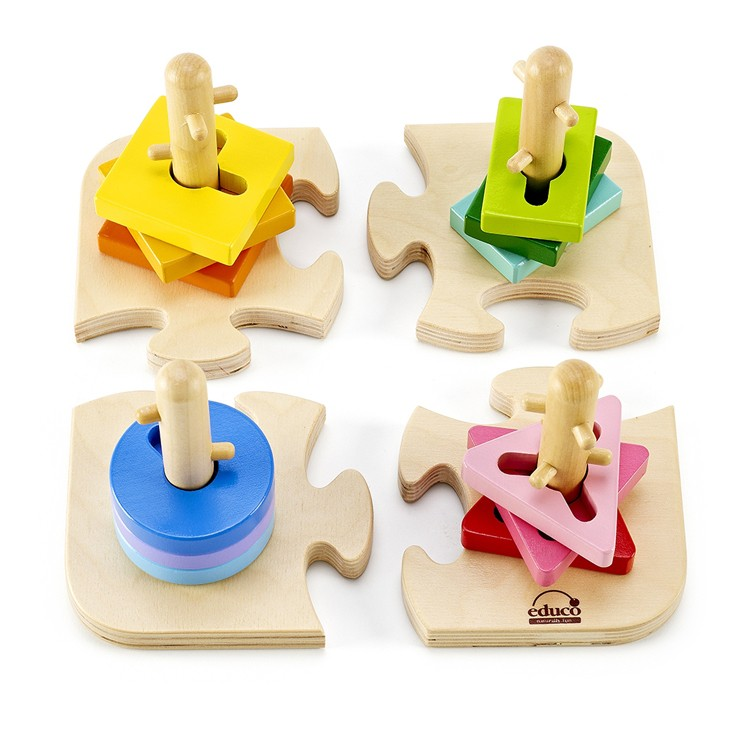 Baby Peg Toys : Creative peg puzzle toddler wooden d