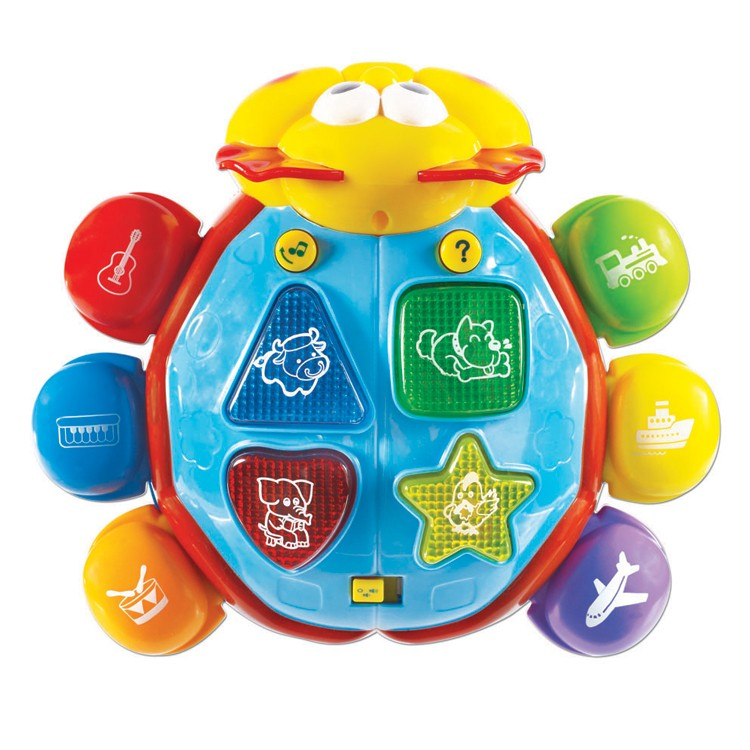 Brainy Buggy Toddler Electronic Learning Toy - Educational ...