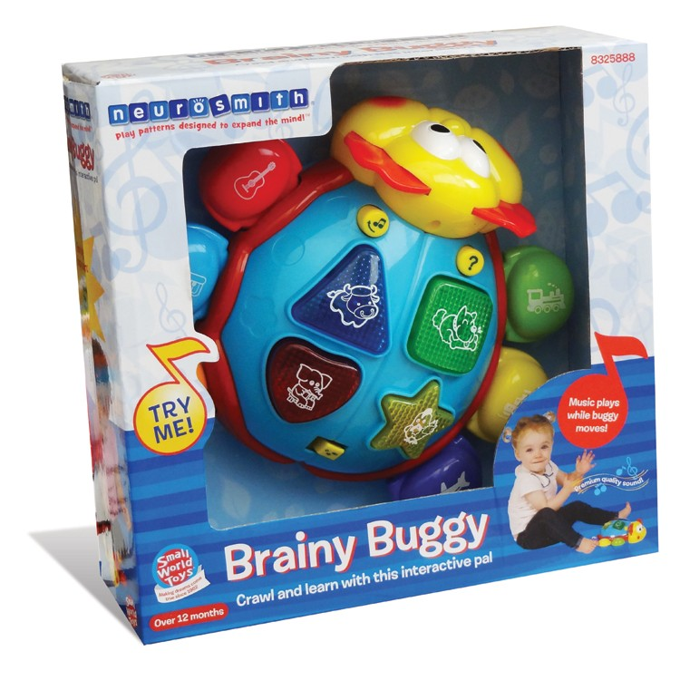 Electronic Educational Toys : Brainy buggy toddler electronic learning toy educational