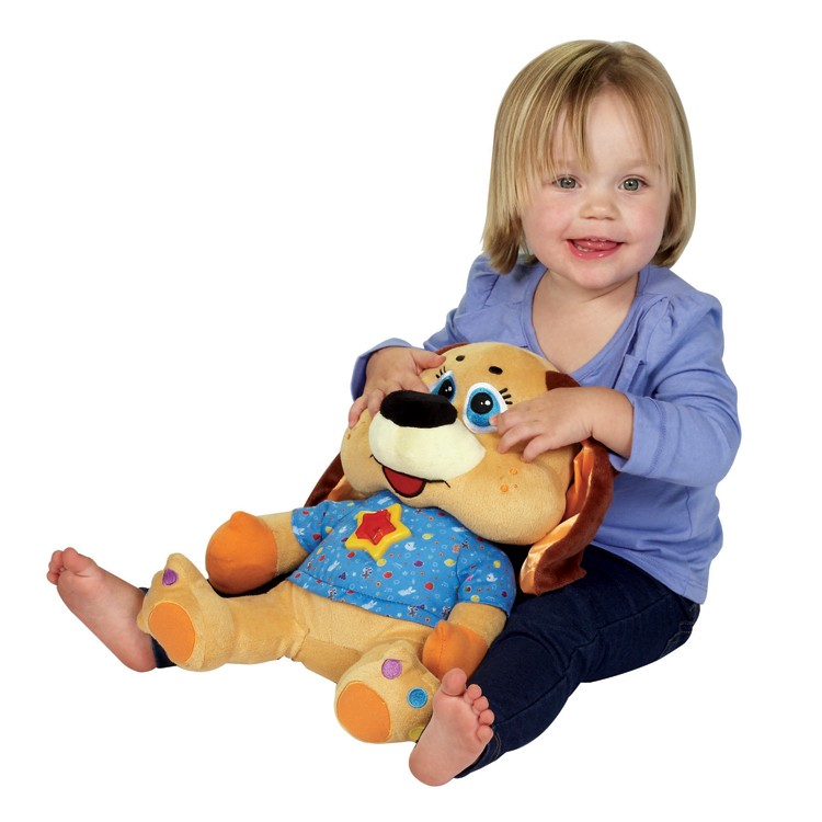 Baby Learning Toys : Sparky the dog interactive learning baby toy educational