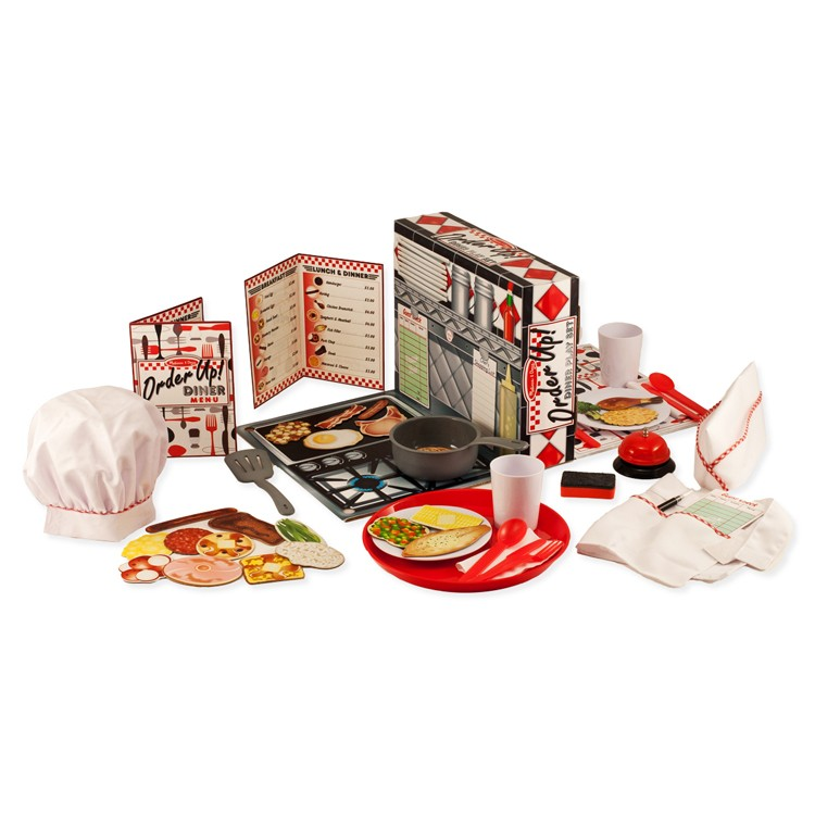 Toys For Restaurants : Pretend diner kids restaurant role playing set