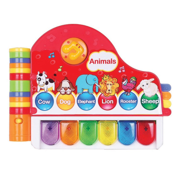 Preschool Learning Toys : Musical library toddler electronic learning toy