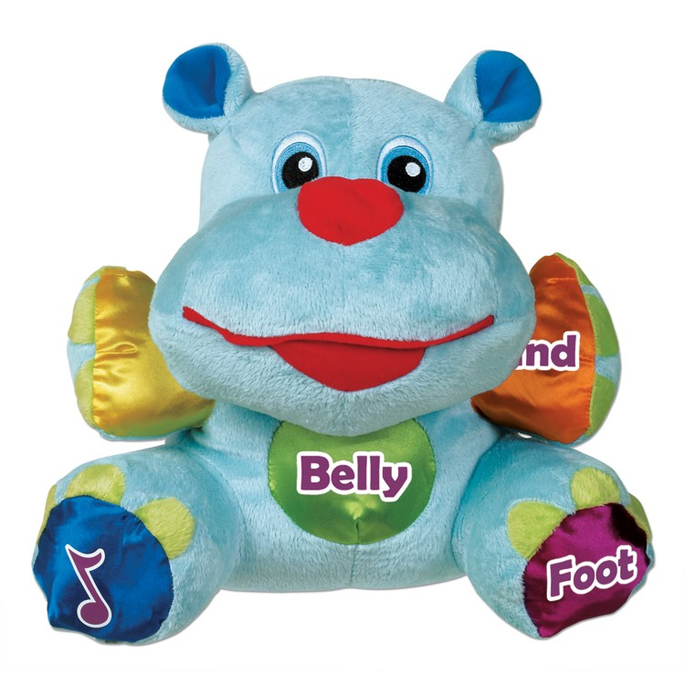 Baby Learning Toys : Hannah the hippo interactive learning baby toy