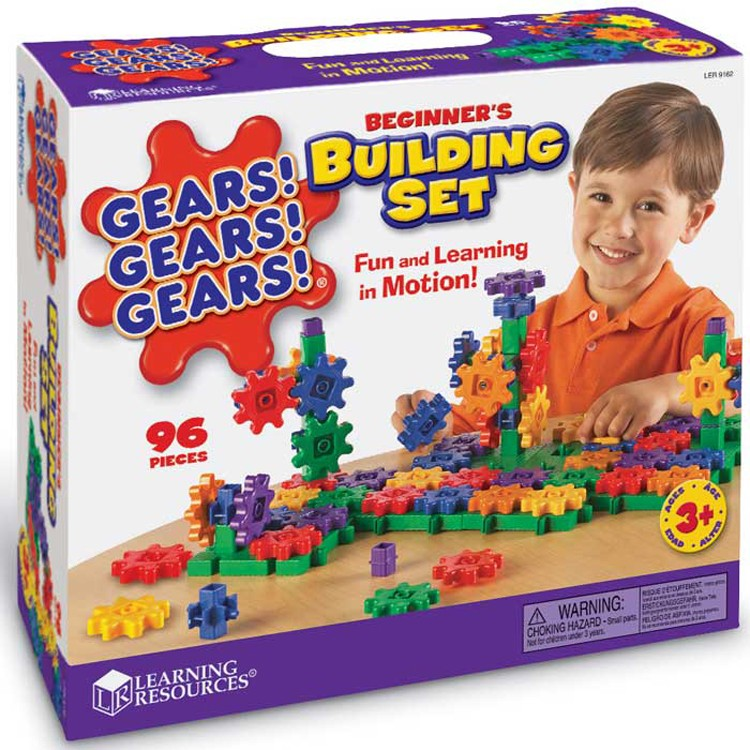 Gear Building Toys For Boys : Gears beginner s pc building set educational toys planet
