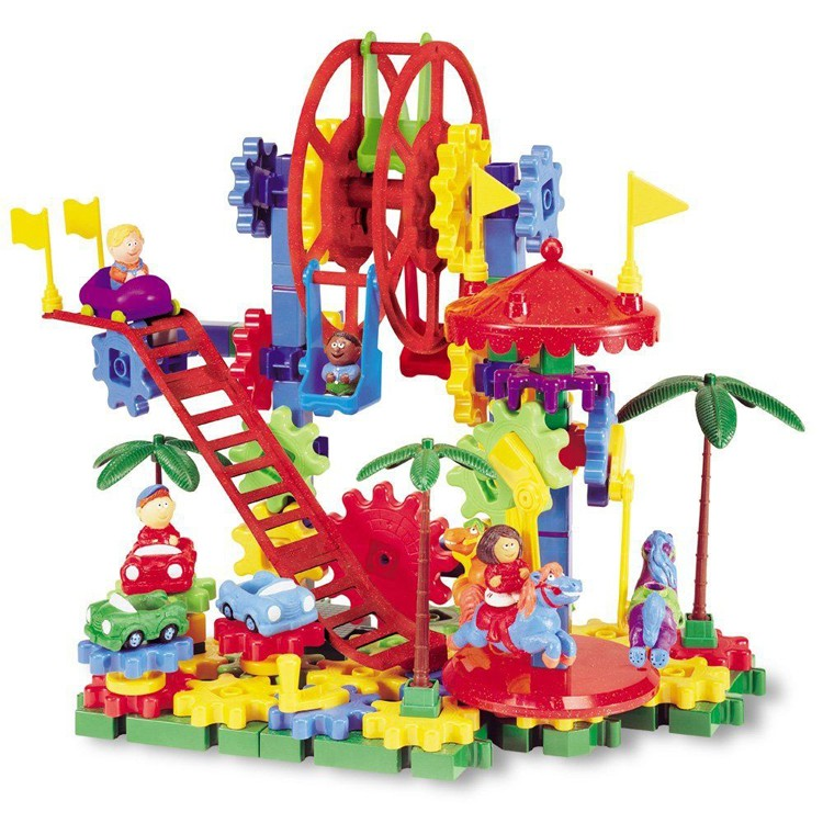 Gear Building Toys For Boys : Dizzy fun land motorized gears building toy educational