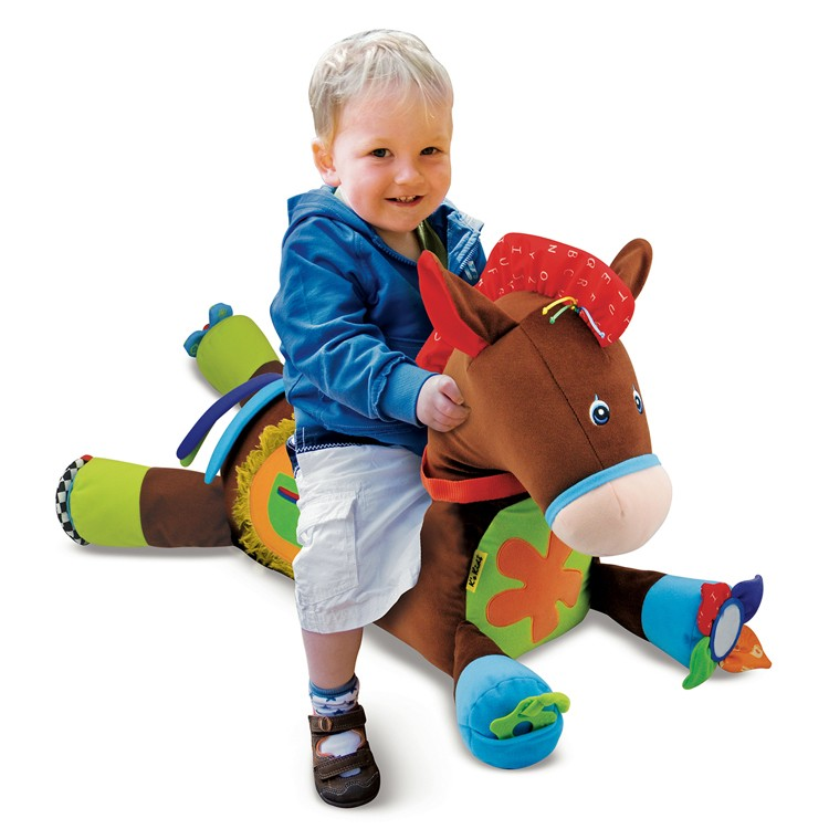 Baby Activity Toys : Giddy up play baby activity soft toy horse educational