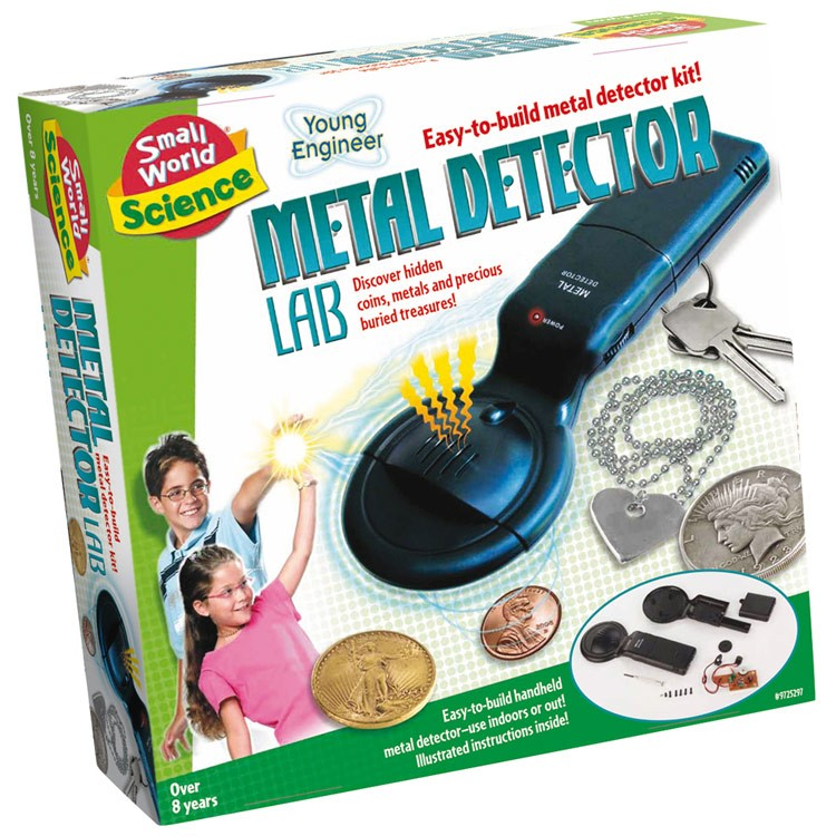 Science Toys For Teenagers : Build metal detector kids science kit educational toys