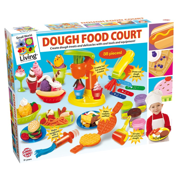 Toys R Us Play Dishes : Dough food court sculpting playdough set