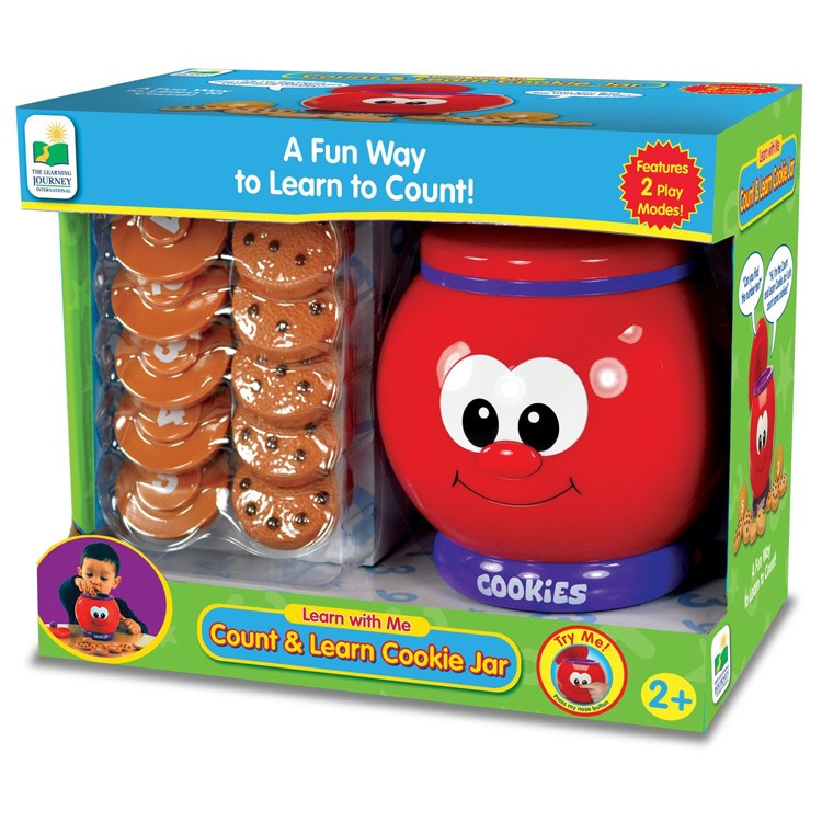 Count Amp Learn Cookie Jar Numbers Learning Toy