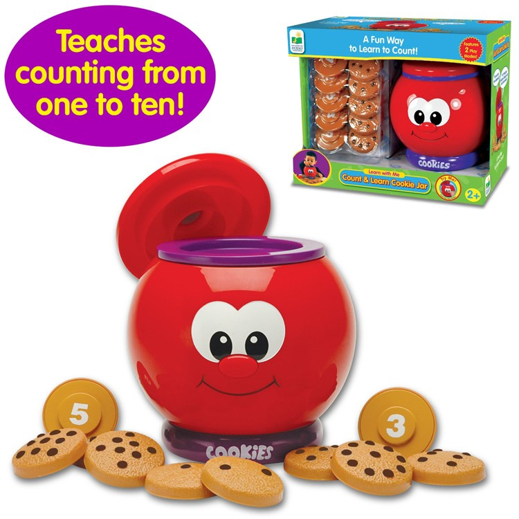Toys For Learning Numbers : Count learn cookie jar numbers learning toy