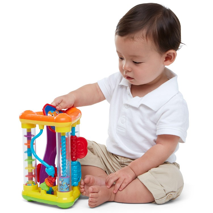 Baby Activity Toys : Flip n spin triangle baby activity toy educational toys