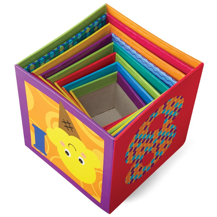 Abc Amp 123 Nesting Amp Stacking Cubes Learning Toy