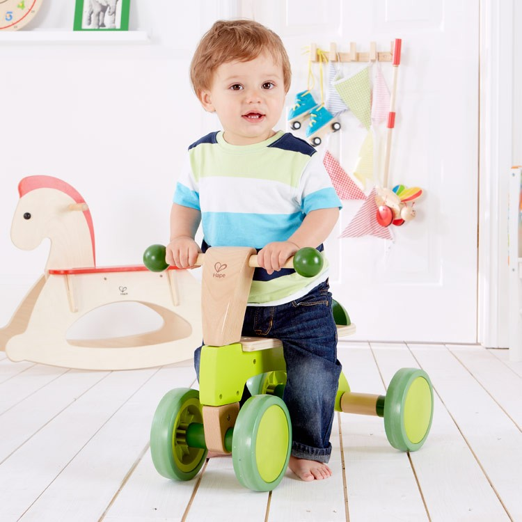 Push Toys For Toddlers : Scoot around toddler push ride on toy with wheels