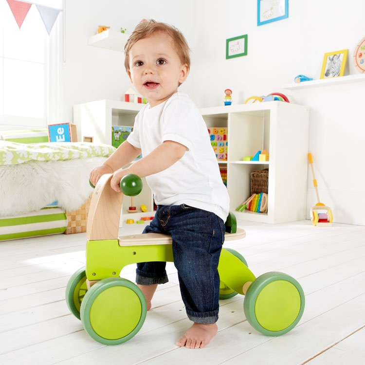 Toddler Toys Physical Toys : Scoot around toddler push ride on toy with wheels