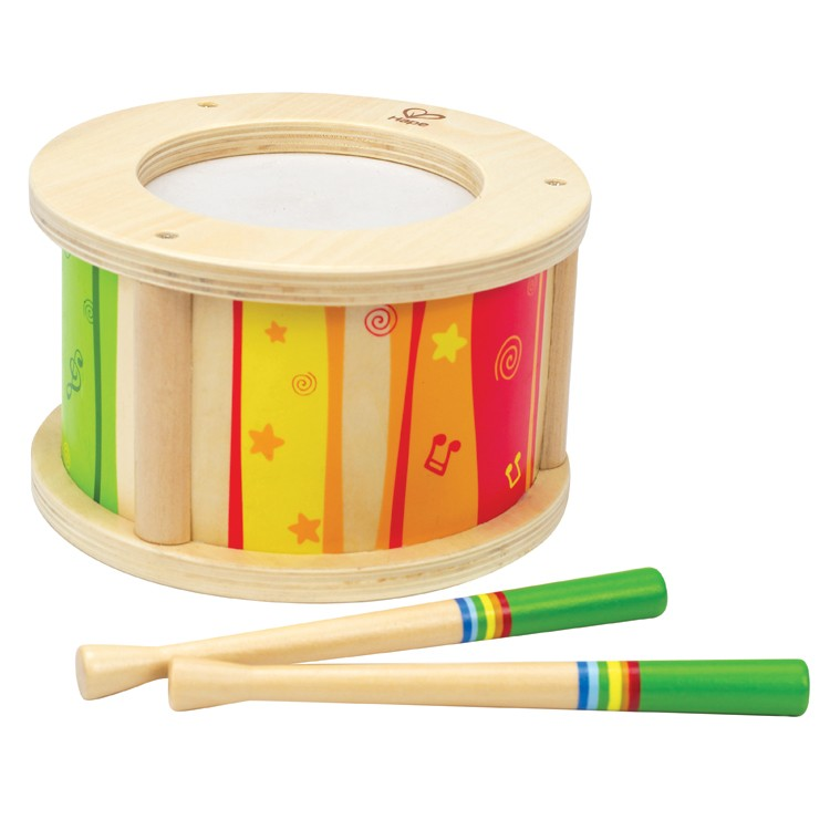 Wooden Musical Toys : Toddler drum wooden musical toy educational toys planet