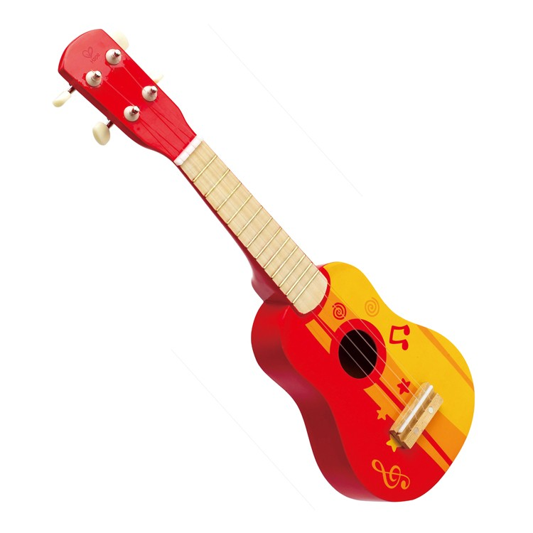 kids ukulele musical instrument red. Black Bedroom Furniture Sets. Home Design Ideas