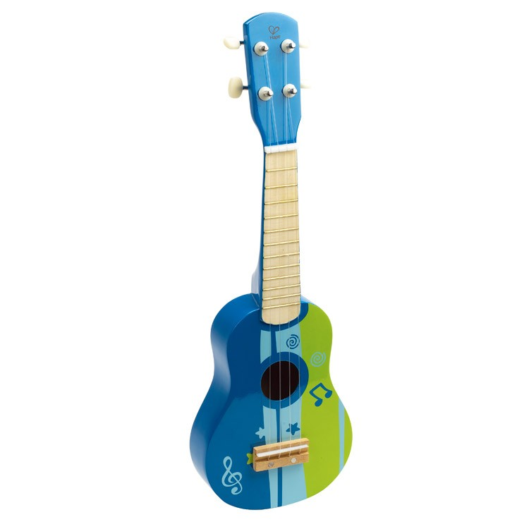kids ukulele musical instrument blue educational toys planet. Black Bedroom Furniture Sets. Home Design Ideas