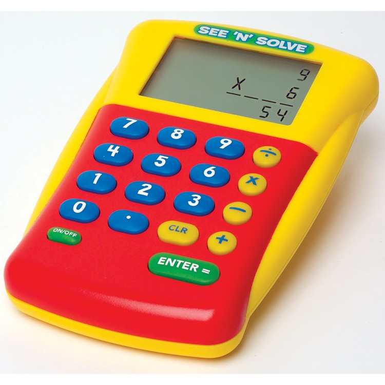 See N Solve Visual Calculator For Kids Educational Toys