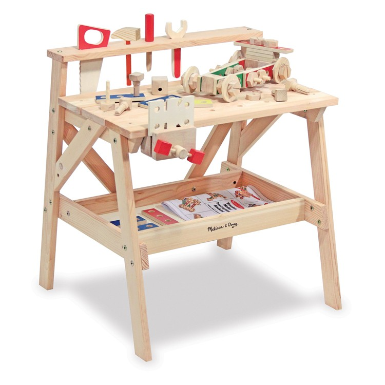 Kids Wooden Workbench Educational Toys Planet