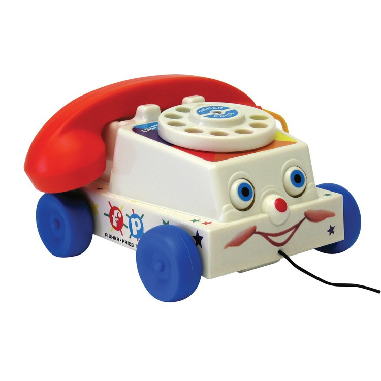 Classic Fisher Price Toys : Fisher price classic chatter phone pull toy educational