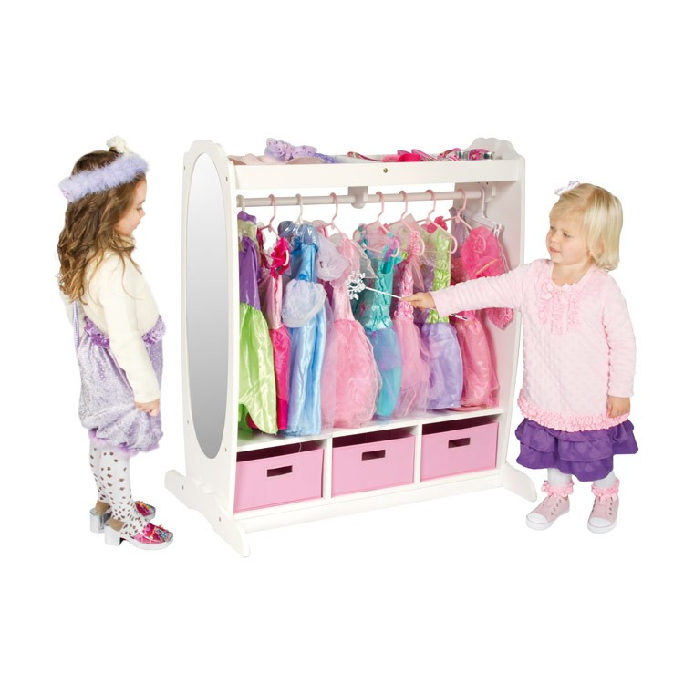 Dress Up Pretend Play Images On: Kids Dress-Up Storage Center