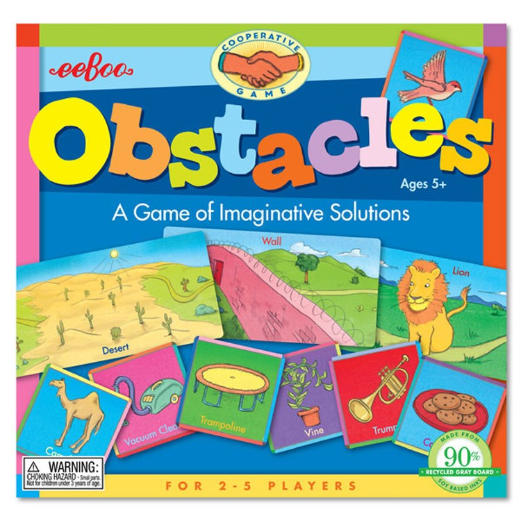 Obstacles Kids Game of Creative Problem Solving - Educational Toys ...