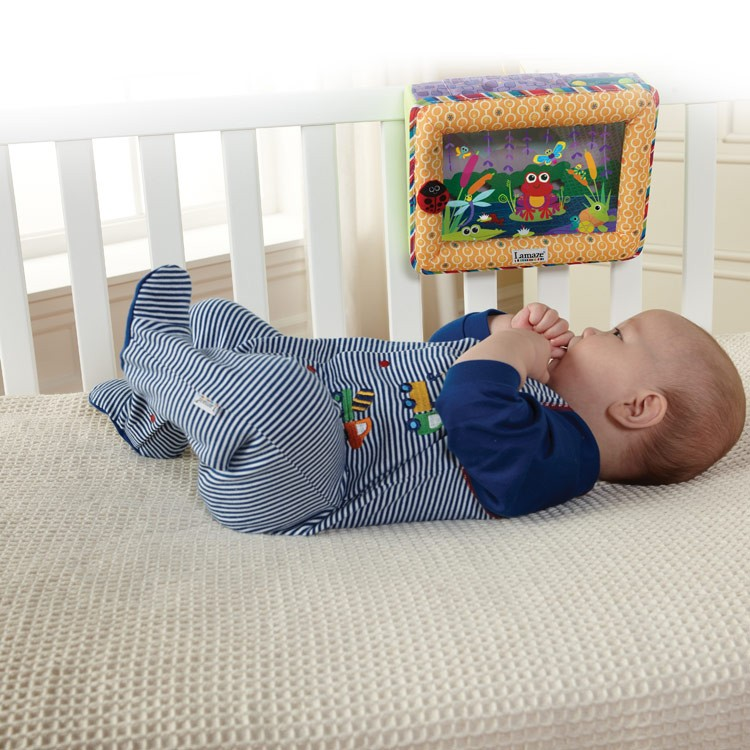 Crib Toys Learning : Lamaze pond symphony soother crib toy educational toys