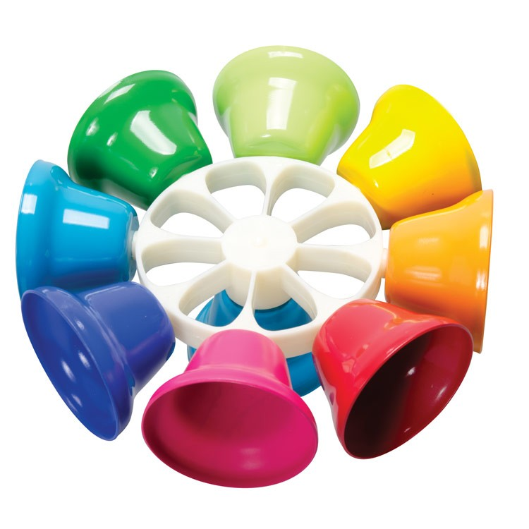 Bell Musical Toys : Rainbow music spin bells musical toy educational toys planet