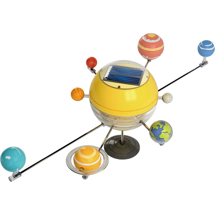 Solar system solar power motorized model craft for Solar energy articles for kids