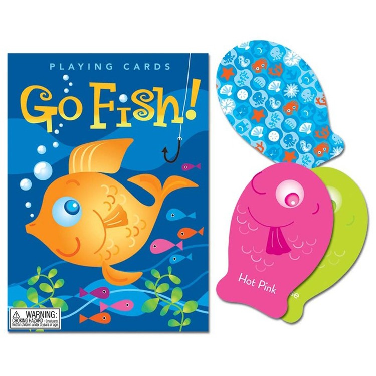 Color go fish playing cards game for Go fish games