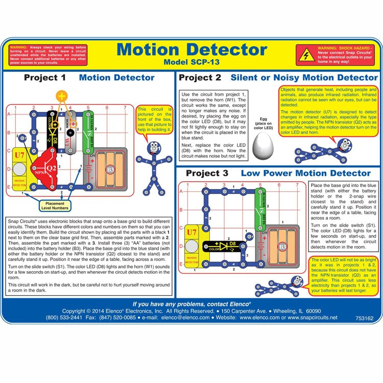 Motion Detector Toys