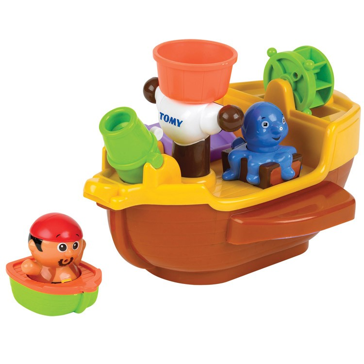 Pirate Toys For Boys : Tomy pirate ship toddler bath playset educational toys