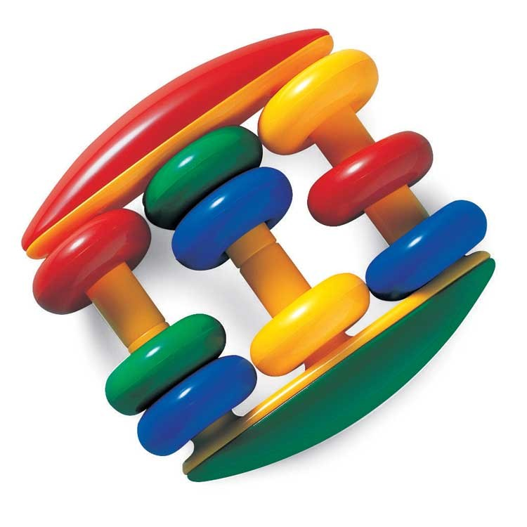 Baby Rattle Toys : Abacus rattle baby first toy educational toys planet
