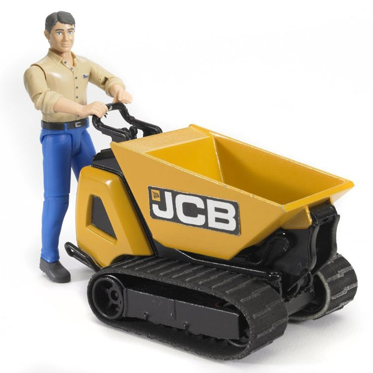 Bruder Construction Toys For Boys : Bruder construction jcb dumpster and worker